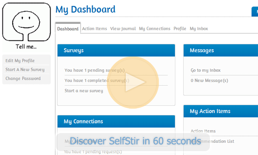 SelfStir Dashboard