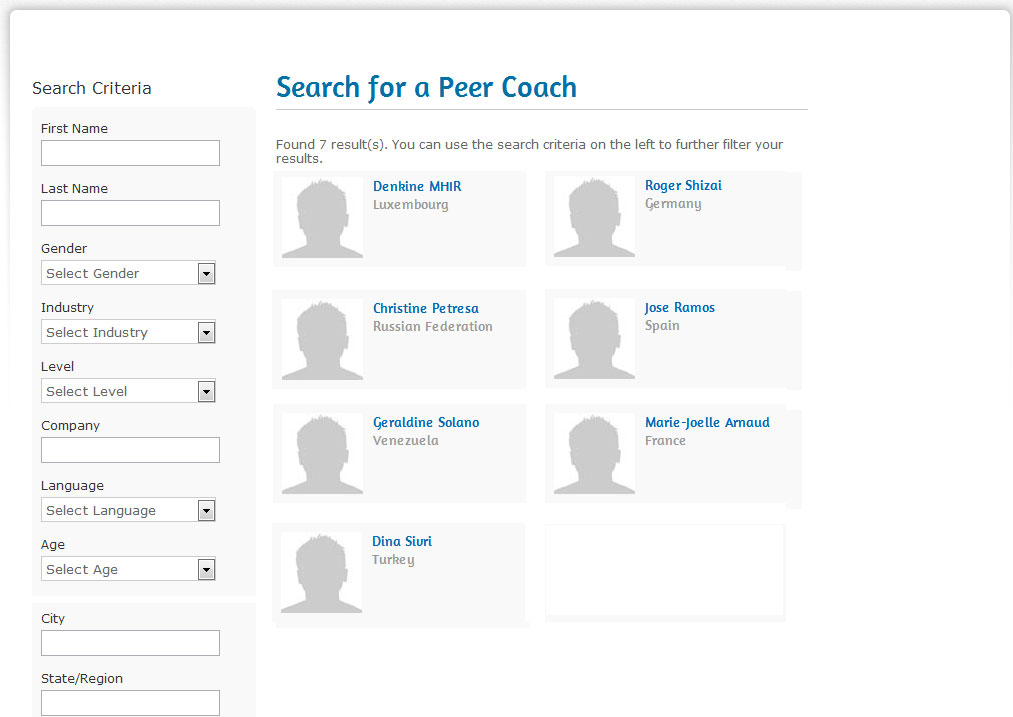 searchpeercoach